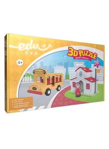 Benim Okulum 3D Puzzle-Bebox